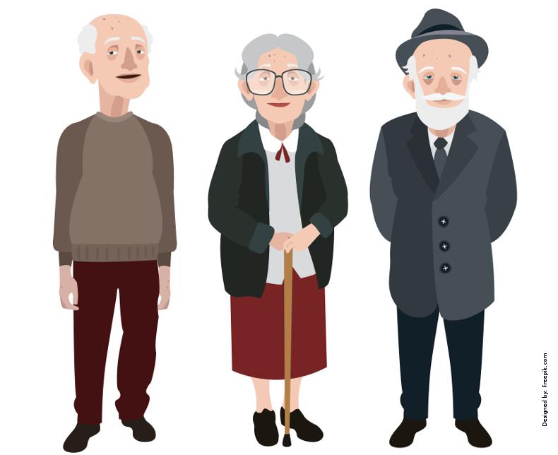arbejde med ældre mennesker