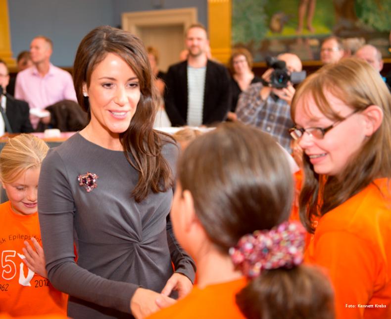 Hendes Kongelige Højhed Prinsesse Marie er protektor for Epilepsiforeningen