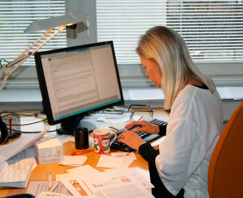 Epilepsiforeningens socialrådgiver Helle Obel