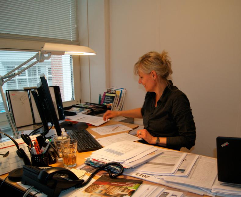 Epilepsiforeningens sygeplejerke Lotte Hillebrandt